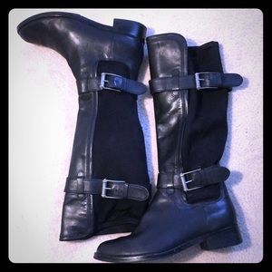 Cole Haan Nike Air Whitley Buckle riding boot 8.5